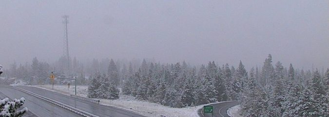 Pacific Northwest, N Rockies receive first significant high-elevation snow of season