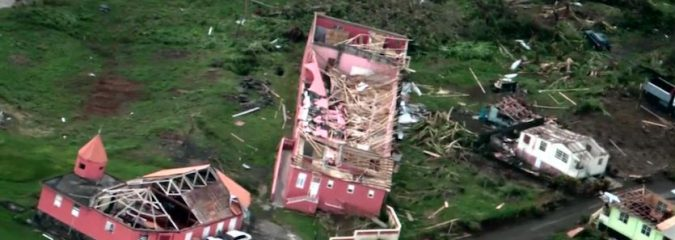 WU: Maria Back Over Water After Devastating Hit to Puerto Rico