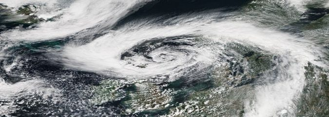Tropical cyclone effects in Europe