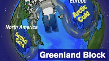 Strong 'Greenland Block' likely to bring cold end to November, CFS looking more promising!