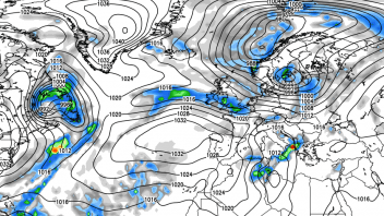 Remains of Rina soak Southern Britain, Frosty further North.. Turning milder next week!
