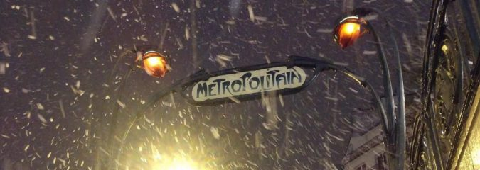 Arctic blast turns Paris white on final day of meteorological autumn