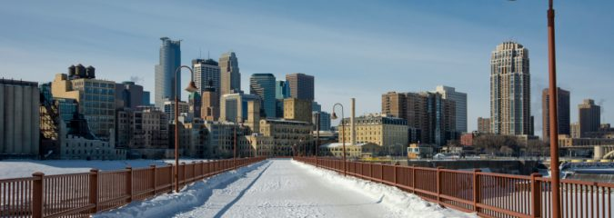 POLAR FRONT: Minneapolis goes from highs near 60 to wind blown snow and 20s in 24 hours!