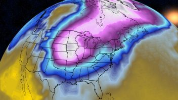 Chicago, New York, Boston shoot for 60F, Canada shivers at -58F, Alaska -54F, BIG crash coming!