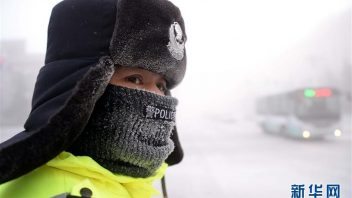China shivers at -50C, Shanghai sees heaviest snow in 10 years!