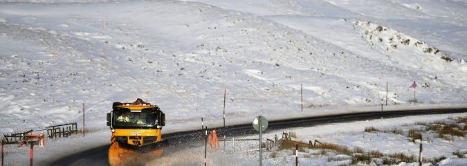 Snow returns to Scotland and Northern Ireland Wednesday