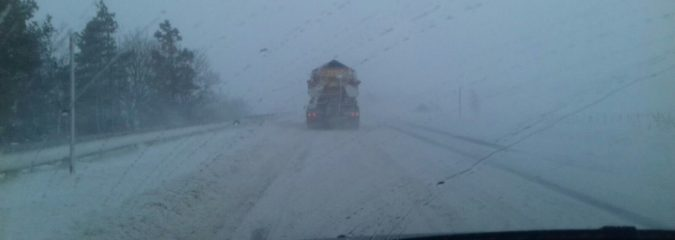 100 mph winds generate whiteout & worst conditions of winter for Scottish Highlands