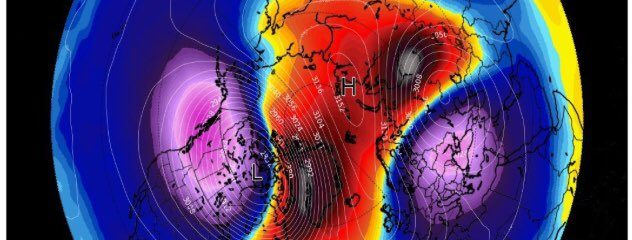 SSWE (sudden stratospheric warming) is one thing, where it affects is another