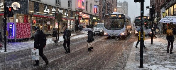 The Atlantic parade continues and so does the UK snow threat
