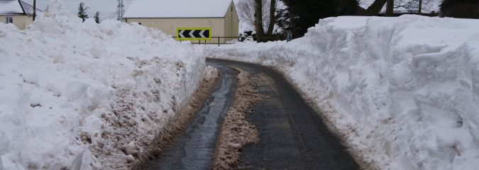 'Beast from the East' Brought Record Breaking Snow and Cold to Scotland