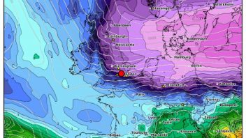 Beast From The East 2.0: Very Impressive Cold For 3pm on March 17th