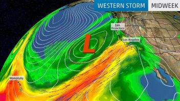 A Stormy US: Atmospheric River In Pacific To Spawn More Nor'Easters Off New England?