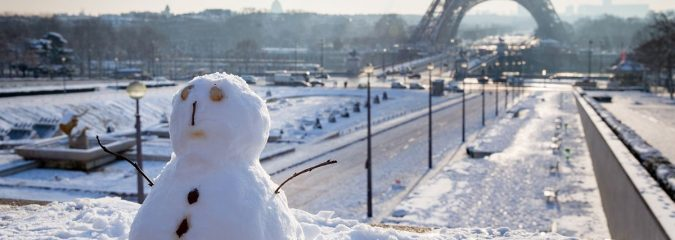 Paris Shivers In Coldest Consecutive Late March Days Since 1888