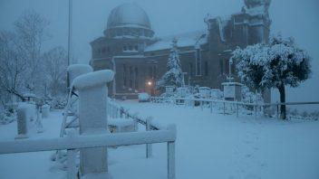 First Paris Then Barcelona's Fabra Observatory Receives 2nd Biggest Snowfall Since 1914