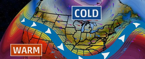 East US: March Ends Mild But April To Start Cold Following Colder March Than February