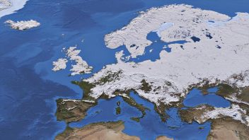 Scandinavian Snowpack At It's Deepest In At Least 10 Years