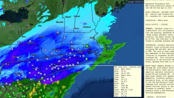 Another Month (This Time April) & More Record Cold & Snow From Illinois To New York