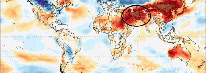 Eurasian Landmass: Tale Of Two Extremes In March 2018, Severe Cold Russia v Severe Heat Pakistan