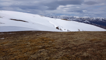30ft Drifts Remain Tucked Within The Drumochter Hills 1.5 Months After 'Beast From The East'