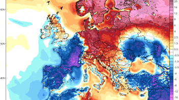 27.1C in Finland verses 9.2C in South of France near Med Sea