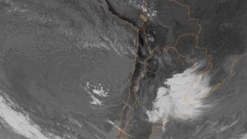 First Ever Tropical Cyclone Forms Off Chile in 16-20C (60-68F) Water?