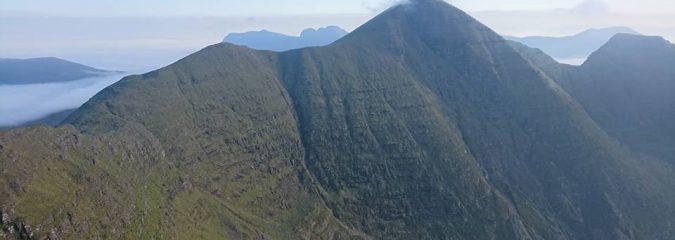 Climb of Beinn Alligin, Torridon