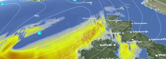 After a month in hibernation, our beloved jet stream and it's lows make a comeback Wednesday