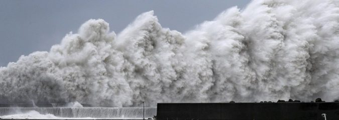 A Summer of Extremes For Japan: Strongest Typhoon in 25 Years Hits In Wake of 2 Record Rain Events And Heatwave