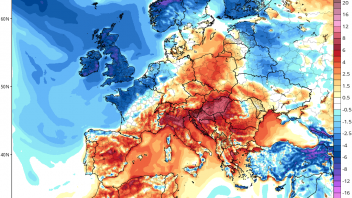 First Arctic Air Mass Of Season To Sweep Over UK Late Week/Weekend