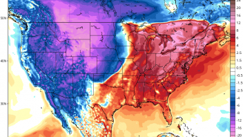 Big temperature fight on the way as arctic air drives south, tropical air lifts north!