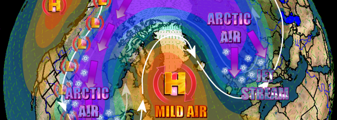 Negative AO/NAO developing? Models see cold Halloween/early November on both sides of Atlantic