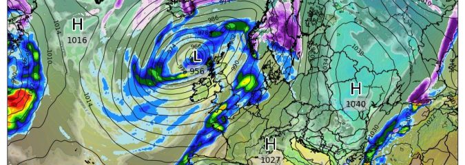 Turning wetter, windier, warmer but stormy period?