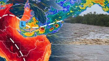 Northern Queensland communities receive a YEAR'S WORTH of rain in 7 DAYS!