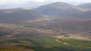 Meall Chuaich (Last of Drumochter hills!)
