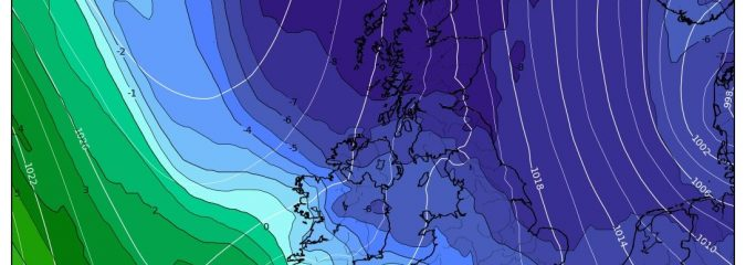 Early May Arctic Cold Shot on the way for UK!