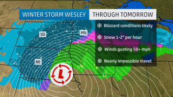 Plains storm promises to bring big blizzard, record snow, flooding, tornadoes, wildfire