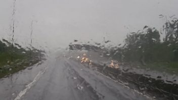Feeling more like October as month's worth of rain falls on England, Wales