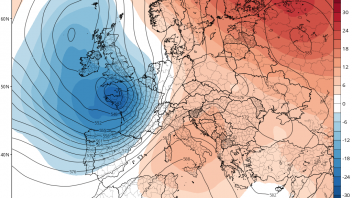 Finland enjoys earliest 32C on record while wind and rain batter southern Britain
