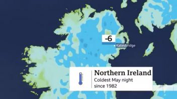 Towns in Scotland, England, Wales Endure Coldest May Night's in 20-40 Years But Northern Ireland Takes The Prize!