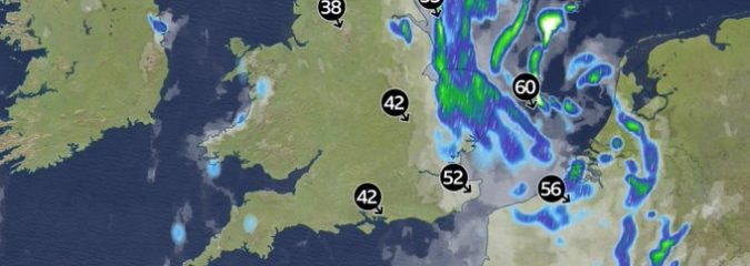 Within 24-Hours, Parts of East Anglia Get's Month's Worth of Rain, Strongest Sep Gusts Since 1997 & Coldest Sep Day On Record