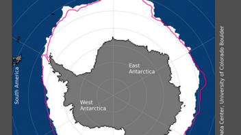 September 2020 Had Greatest Antarctic Sea Ice Concentration Than Any September Between 1979-1999