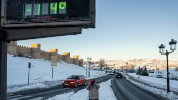 Spain Plummets To -26.5C (-29.9C unofficial) Following Madrid's Biggest Snowfall For 50 Years
