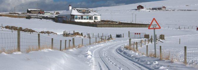 Shetland Observes Coldest Night Since 2013