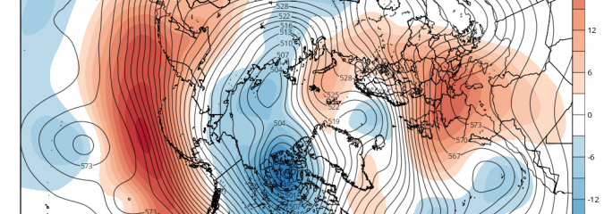 Major April Cold On The Way?