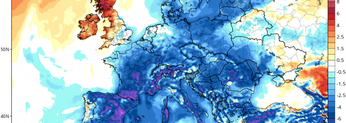 Unusual Warmth Reaches Iceland & Greenland At Expense Of Record Cold Spreading Back Through Europe
