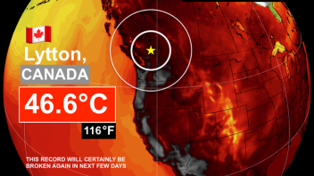 Canada Set's New All-Time Heat Record