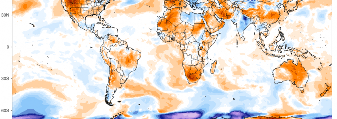 Despite Developing Hot Spots, Earth's Temp Remains Near Average Thanks To Antarctica