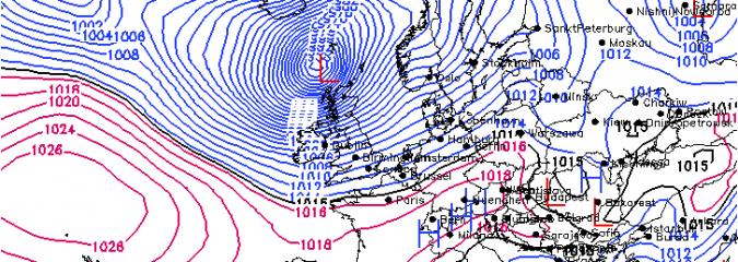 10 Years Ago Today: Ex-Hurricane Katia Slams UK With Damaging 90 mph Winds, High Seas!